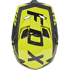 Fox Rampage Pro Carbon Moth Helmet Men Black/Yellow